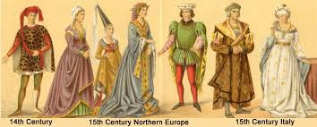 image of 14th century dress